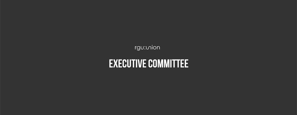 RGU:Union Executive Committee