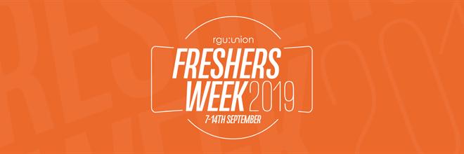 Freshers Week 2019 Events