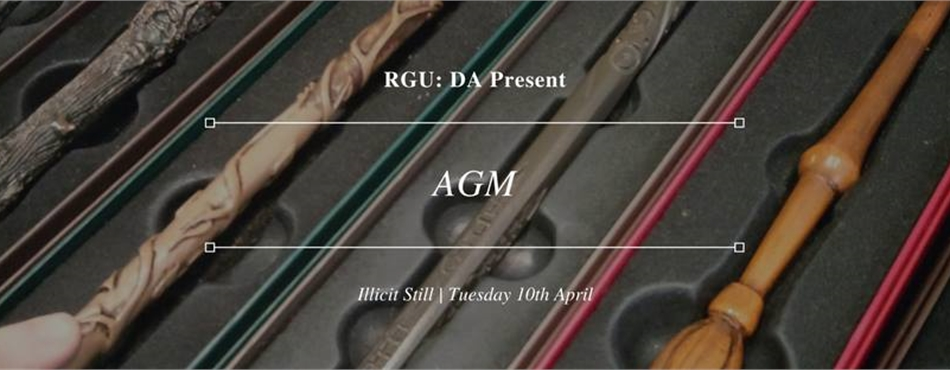 Harry Potter: Elections & AGM