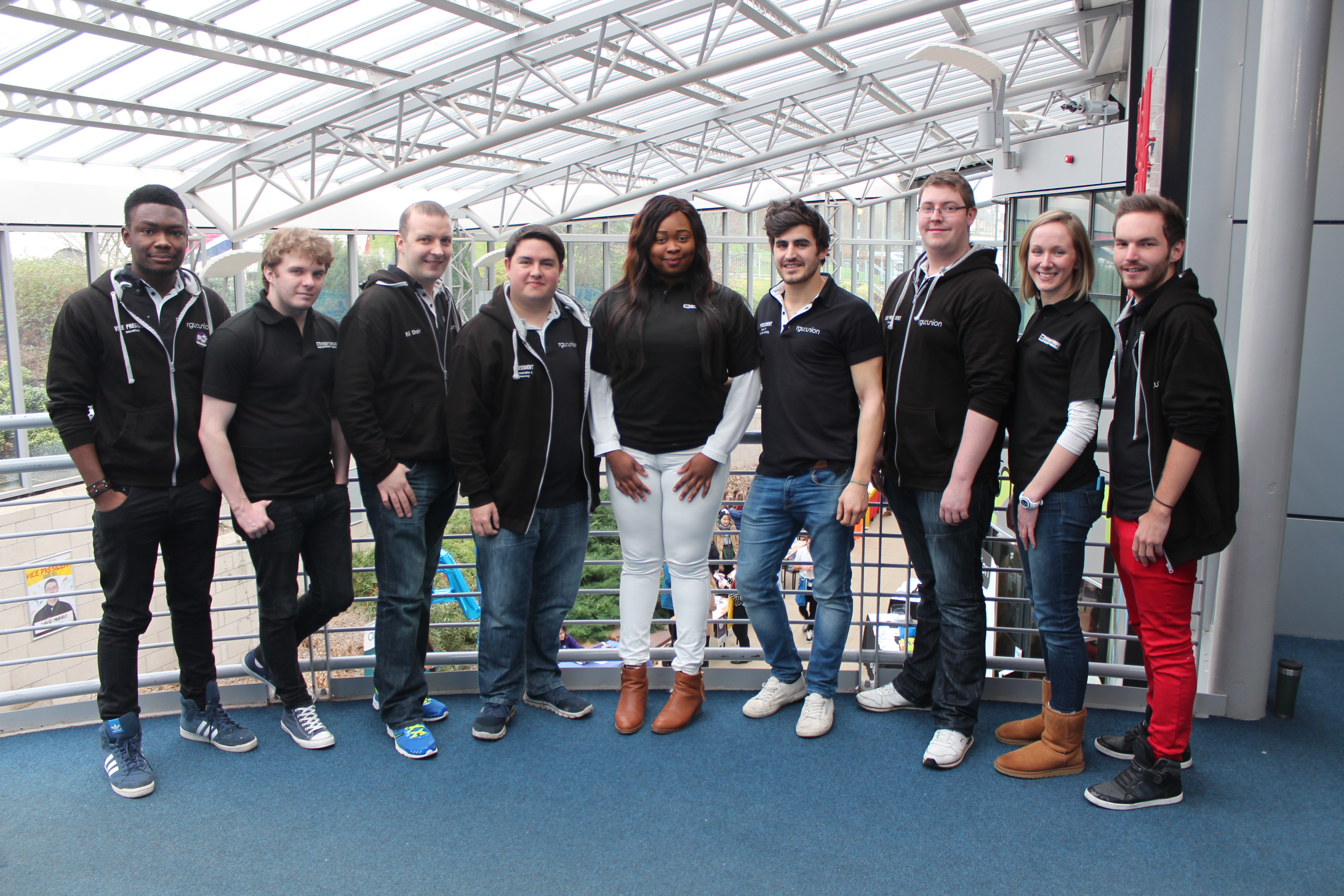 RGU:Union Executive Committee 2015-16