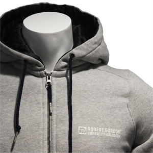 Image for Camden Quilted Hoodie - Grey Marl - XS