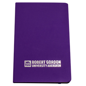 Image for Soft Touch A6 Notebook - Purple